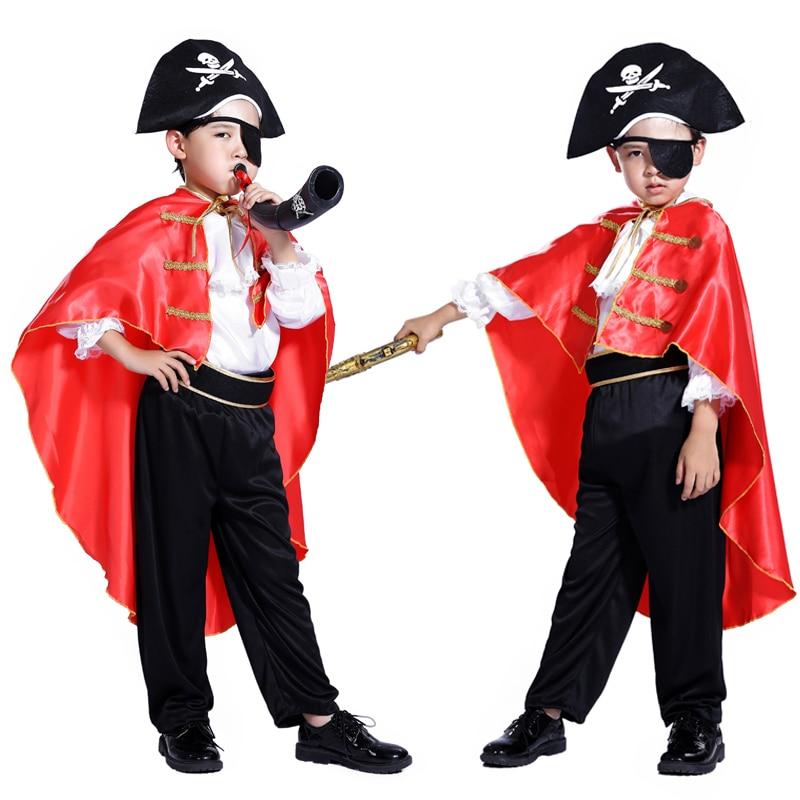 De nya piraterna i Karibien Halloween maskerade cosplay barndräkt - Maskeradkläder och utklädnad - Foto 3