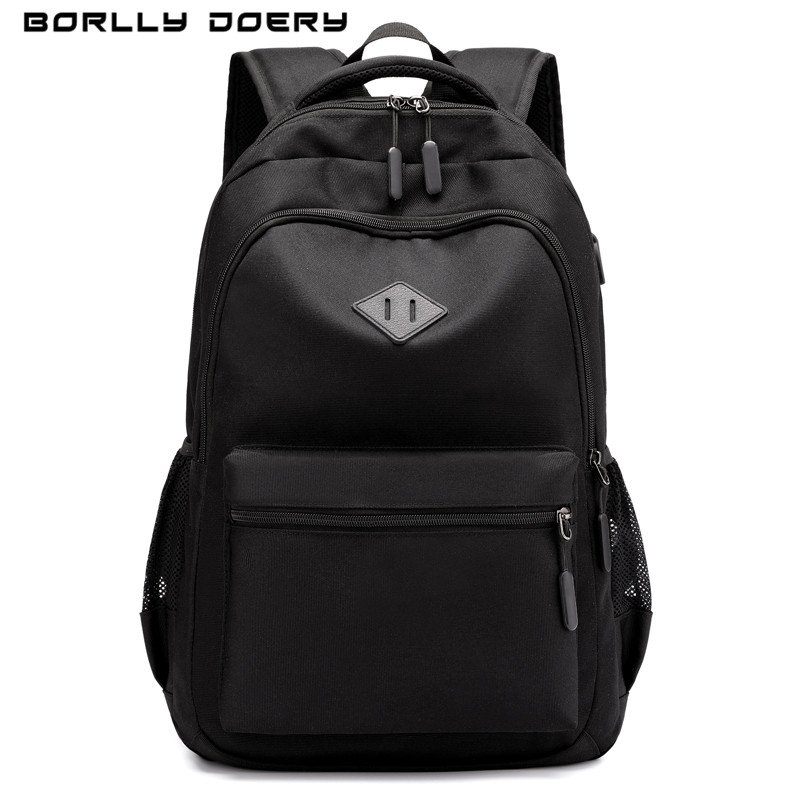 Borlly Doery  travelling bag Laptop Backpack USB Charging Backbag Travel Daypacks Daily commute bag Business backpack