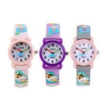 Игрушка новизны ребенок развивающие игрушки мультфильм животных детские часы игрушка резиновая желе Цвет Водонепроницаемый детские игрушки
