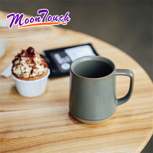 350ml Coffee Cup Retro Ceramic Tea Milk Drinking Portable Handmade Cafe Mug Best Office Gift Accessories