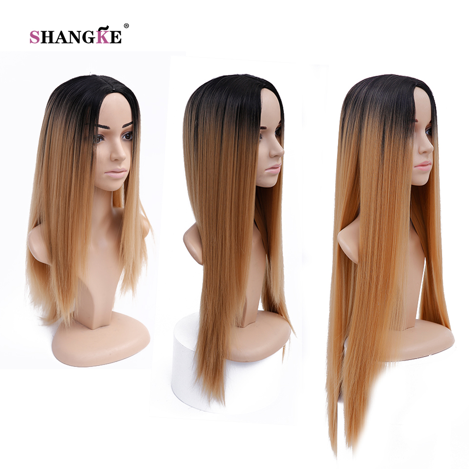 32 Quot Long Ombre Colored Wigs Perruque Synthetic Wigs For