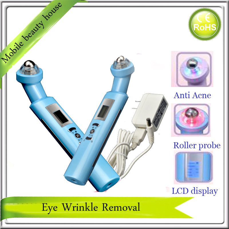 Electric Ball Roller Eye Beauty Wrinkle Removal Skin Lifting Nutrient Infusion Beauty Machine With Photon And Heat Therapy