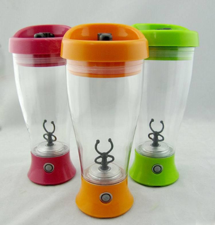 450 ml Électrique protéine shaker mélangeur bouteille d'eau automatique mouvement vortex tornade bpa livraison amovible smart mixer