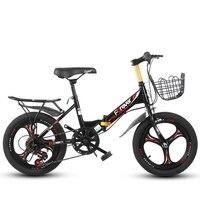 16 дюймов детский велосипед с одной передачей и 6 с переменной скоростью детская горный велосипед складной детский велосипед подарок для мал...