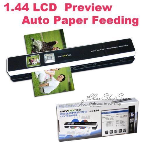 Skypix TSN480 Portable Scanner Automatic Paper Feeding Mini Office Scanner HD 1200dpi High Speed A4 Wireless Offline Scan