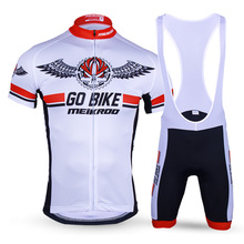 Summer Men's Letter Pattern Cycling Clothing Cycling Set Short Sleeve MTB Bike/Bicycle Jersey Set Quick-Dry Ropa Ciclismo