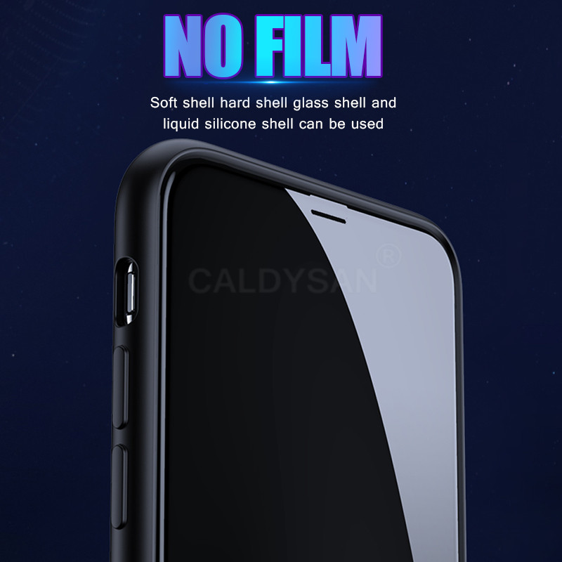 20D Curved Edge Full Cover Protective Glass On The For iPhone 7 8 6 6S Plus Tempered Screen Protector 11 X XR XS Max Glass Film