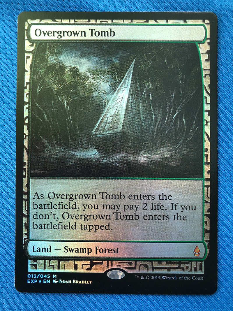 Overgrown Tomb Zendikar Expeditions Magician ProxyKing 8.0 VIP The Proxy Cards To Gathering Every Single Mg Card.