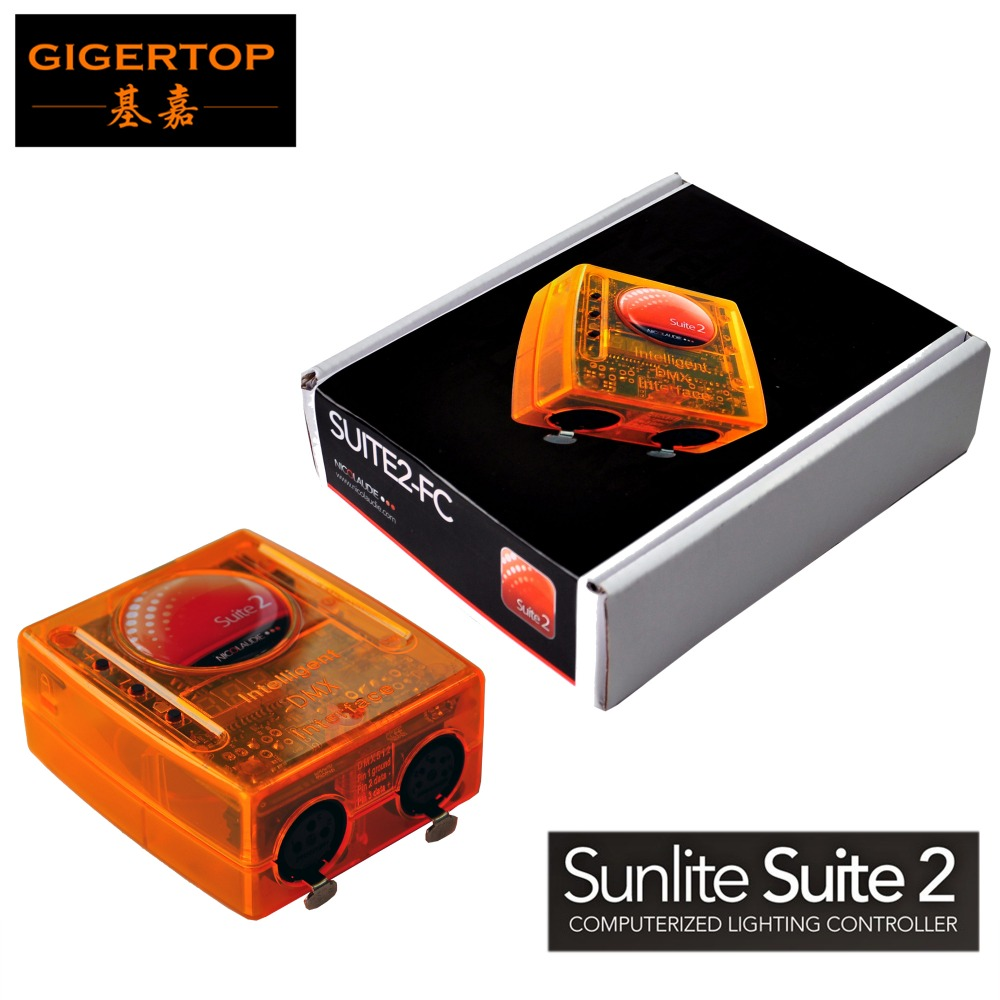 Freeshipping Sunlite Suite 2 First Class USB DMX Interface Suite 2 FC 1536 Channel Full Mode 3D FC Visualizer Musical Instrument зеркало fc full house