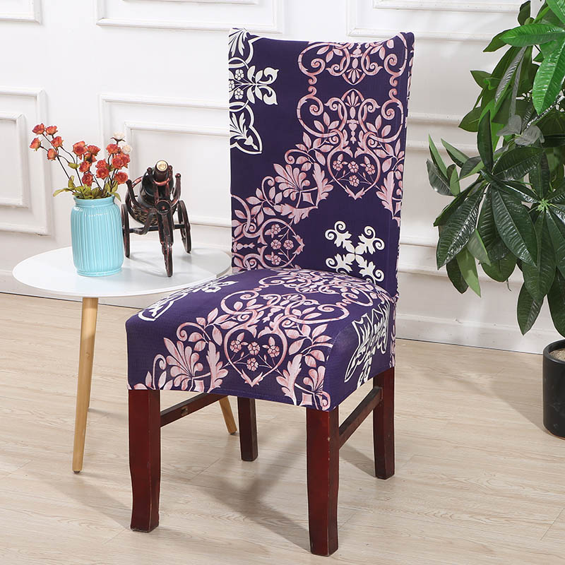Chair Covers Spandex Dining Chair Cover Removable Anti