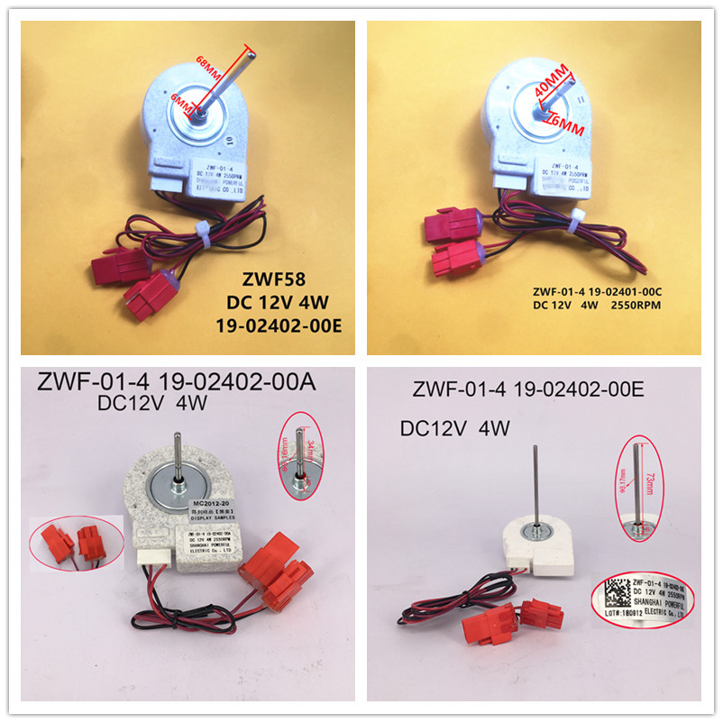 ZWF-01-2.8 B0901.4.4 /ZWF-01-4 19-02401-00A 19-02401-00B 19-02401-00C 19-02401-00D 19-02402-00A 19-02402-00E Good Working Tested