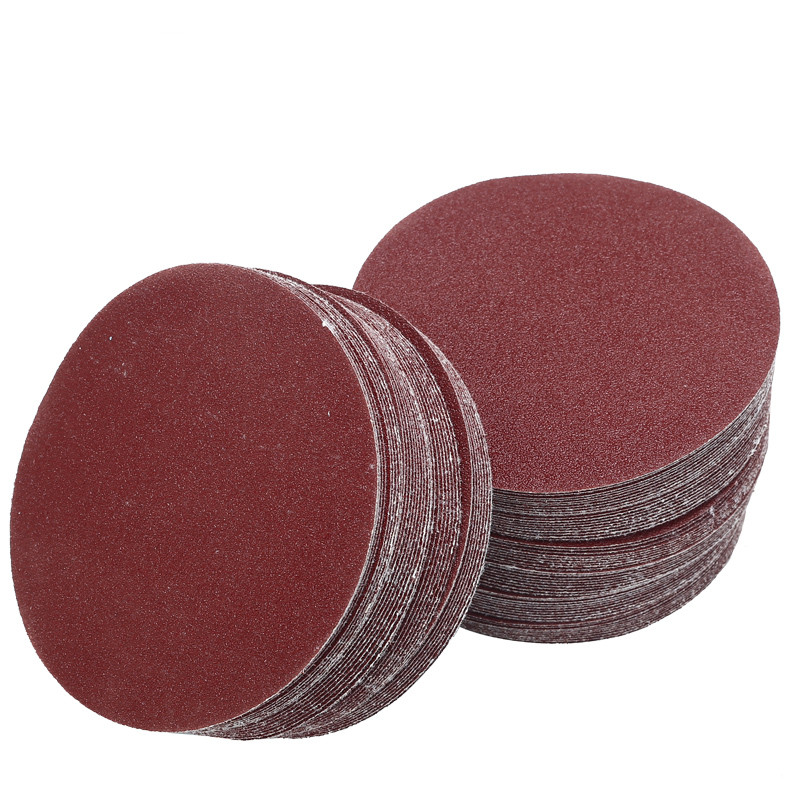 Abrasive Tools Honey 100pcs/set 5 40-7000grit Sanding Disc Random Orbit Hook & Loop Woodworking Sander Sand Paper Discs Grit Sand