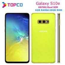 Samsung galaxy s10e g9700 original desbloqueado lte android celular duplo sim qualcomm octa núcleo 5.8