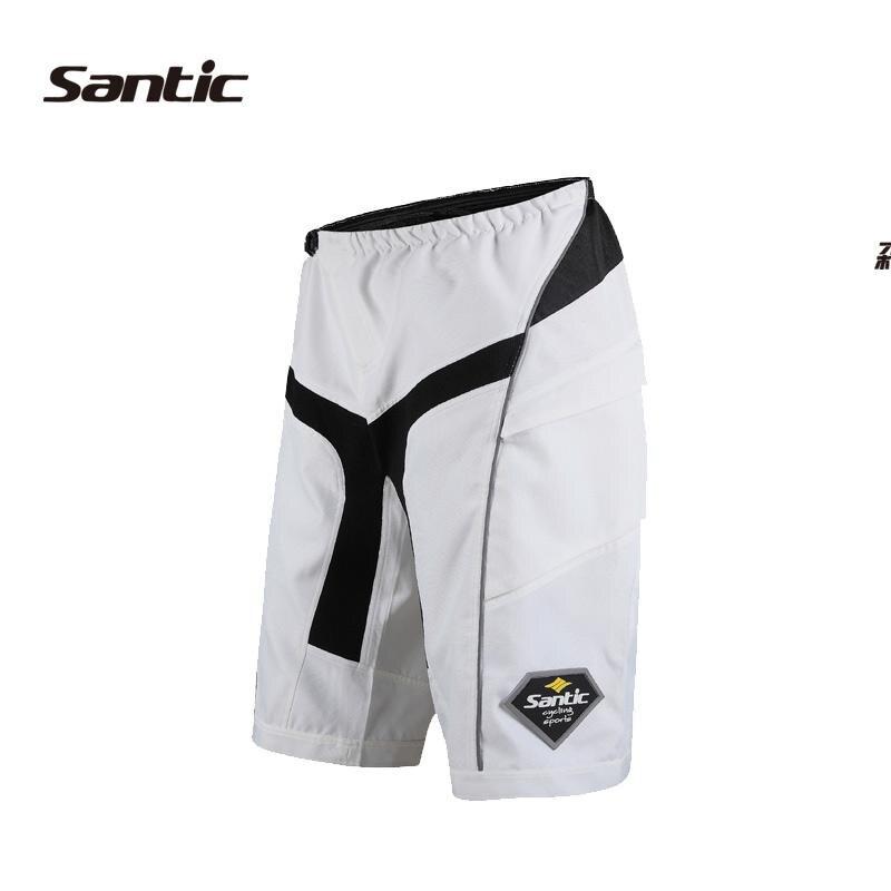 Santic шорты, летние велосипедные шорты для мужчин, лучшее качество, велосипедные шорты, базовые велосипедные шорты для велоспорта, спортивные... - 2