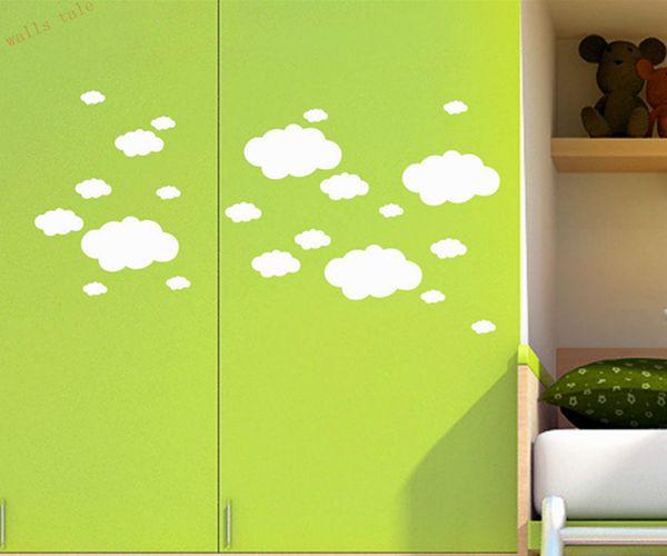HTB1u6saMpXXXXaBXpXXq6xXFXXXI - Mini Clouds wall sticker for kids room