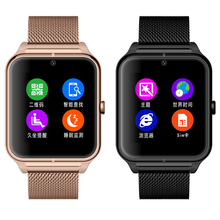 HD Screen Bluetooth Smart Watch Support SIM Card Wearable Devices SmartWatch GSM/GPRS 850/900/1800/1900 For IOS Android