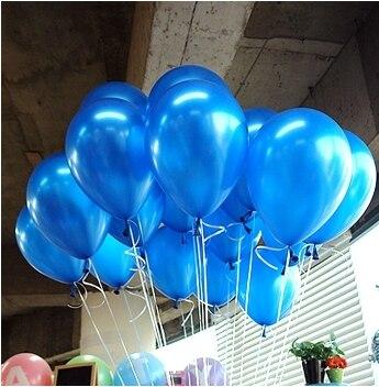 Free Shipping 100pc/Lot 10′ Inch1.2g  Dark Blue Balloon  New 2014  Baby Shower  Birthday Party  Wedding Decoration Balloon