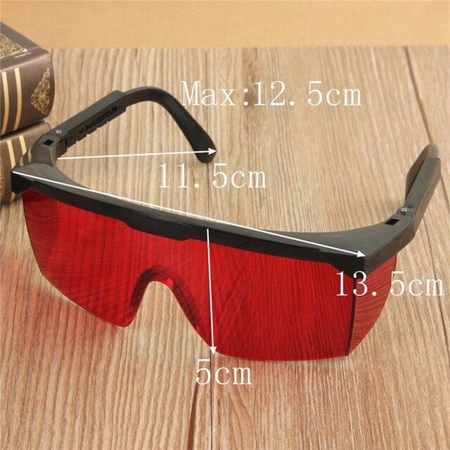 Защитные Очки Лазерная Безопасность Очки С Бархатной Коробке Промышленные Лабораторные Работы лазерные очки Очки Защитные Очки Красный
