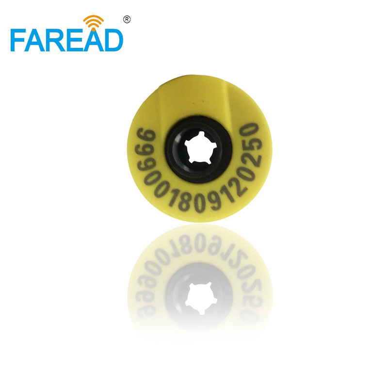 X10pcs Best Quality RFID Ear Tag ISO 11784/5 HDX Electronic Ear Mark For Pig, Cow Sheep Etc.