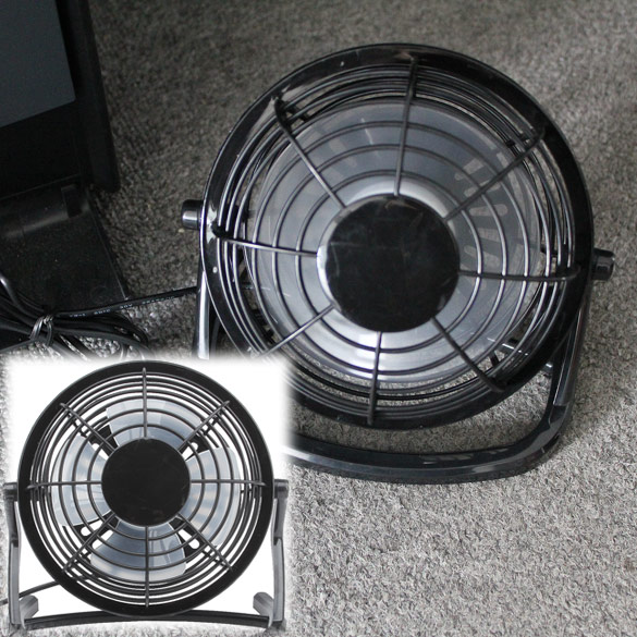 New Mini PC USB Desk Fan USB Cooler Cooling Super Mute Durable soft fan blades Up to Down Adjustable Angle 100% brand