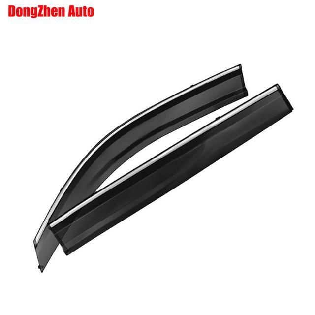 Auto rain shield window visor car window deflector sun visor covers stickers Fit For MG GS 2015 PC 4pcs\/set