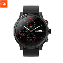 Xiaomi Original Amazfit 2 Stratos Pace 2 Smart Watch Men with GPS Watches PPG Heart Rate Monitor 5ATM Waterproof Drop shipping цена и фото