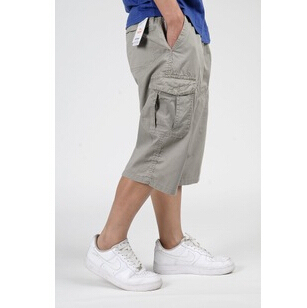 Free shipping 2016 new thin section men fertilizer to increase Elastic big yards Hip-hop pants size XL-6XL cheap wholesale