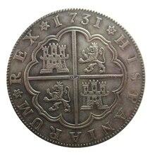 Дата 1731 1809 1813 1869 1873 Испания Reales копия монет