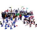 536 unids serie caballero del rey león castillo 1010 bloques de construcción de ladrillo juguetes para niños de regalo compatible con lego