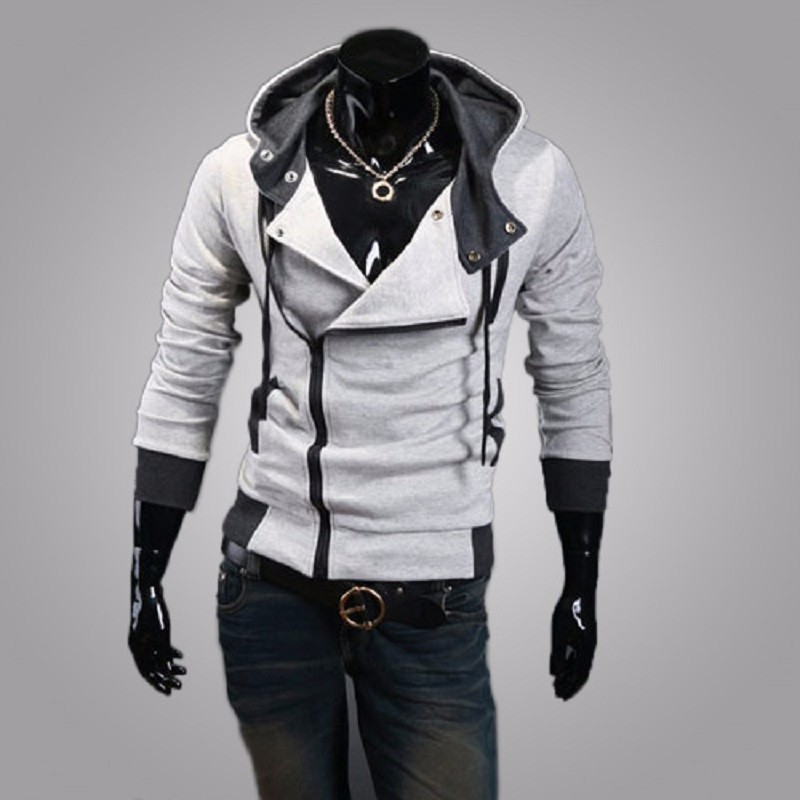 New Fashion Casual Men Hoodies Sweatshirt Male Tracksuit Hooded Jacket Casual Sports Male Hooded Jackets Moleton Assassins Creed3