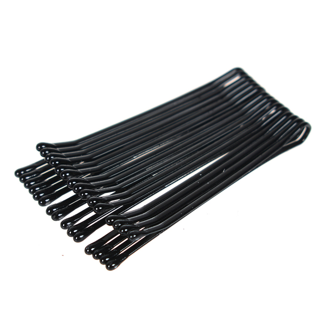 60Pcs/Set Black Hairpins For Women Hair Clip Lady Bobby Pins Invisible Wave Hairgrip Barrette Hairclip Hair Clips Accessories