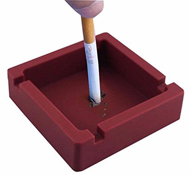 1 pz Posacenere Tondo In Silicone Posacenere Eco-Friendly Colorfull Premio Gomma