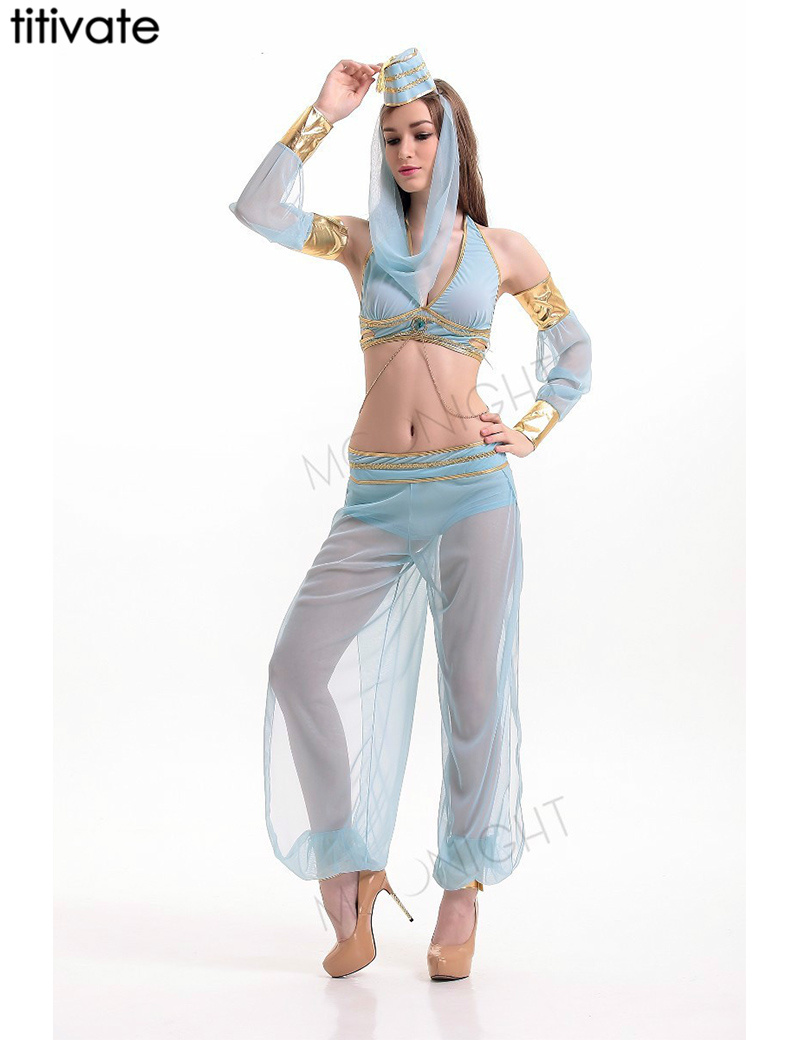 30e53a7e9b30 இTITIVATE Indian Belly Dance Costumes Halloween Dress Professional ...
