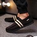 2016 Novos Homens Sapatos Casuais Sapatos Baixos dos homens De Veludo Loafer Slip-resistente Homens Sneakes Moda Condução Sapato Respirável Sapato Casual