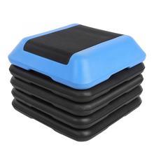 Мини Портативный Регулируемый квадратный аэробный шаговый шаг упражнения фитнес кардио-Тренажер тренировки фитнес-шаг оборудование