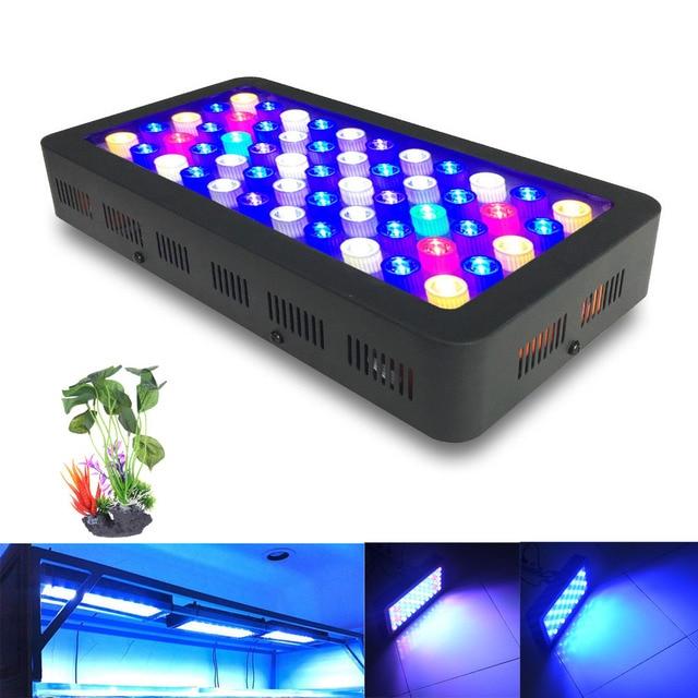 Dimbare 110 w volledige spectrum led aquarium lamp voor koraalrif ...