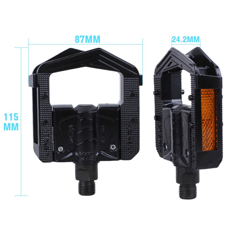 Details about  /Wellgo  Bicycle Bike Pedals MTB Mountain Bicycle DU Bearing Pedal Aluminum