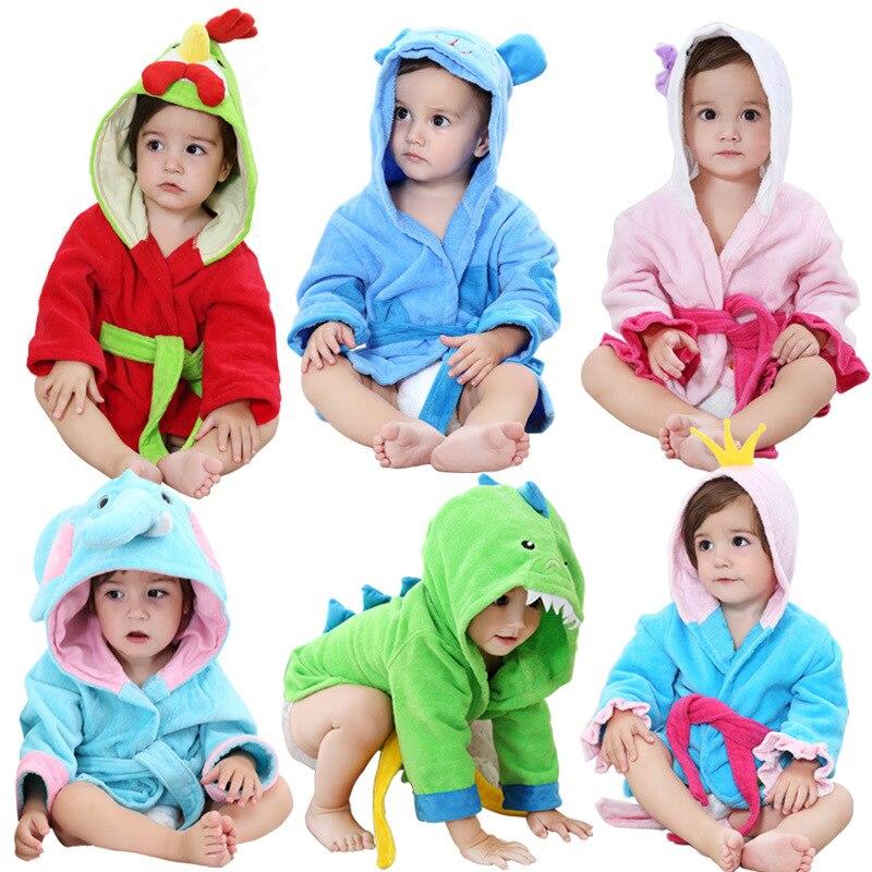 Материал, обрезное бархатистое полотенце, детское полотенце с капюшоном, хлопковый Халат для мальчиков и девочек 0-2 лет
