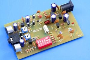Image 3 - Transmissor digital bh1417f 0.1w fm, estação de rádio pll, reprodutor de música estéreo, fm 87.7mhz 107.9 mhz, frequência diy kits para amplificador