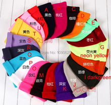 Free shipping 2013 autum winter new arrival  Unisex causal wear hat 20 colors Sleeve cap promotion gift