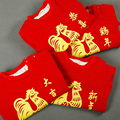 Chinese New Year Happy Red Baby One Piece Jumpsuit Romper for 1-3 Years Infant Boys Girls One Piece Chinese Traditional Clothing