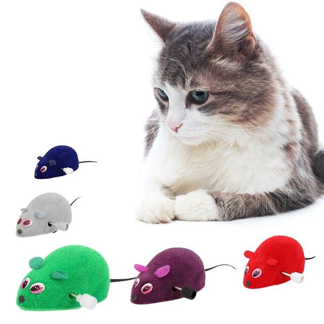 Del Mouse Del gatto Giocattolo a molla Dell'animale Domestico del Gatto del Gioc