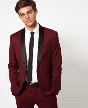 2017 New Arrival Wedding Groomsman Morning Fashion Groom Tuxedos Bridegroom Groomsmen Suits Slim Fit Best Man Suit Jacket+pant