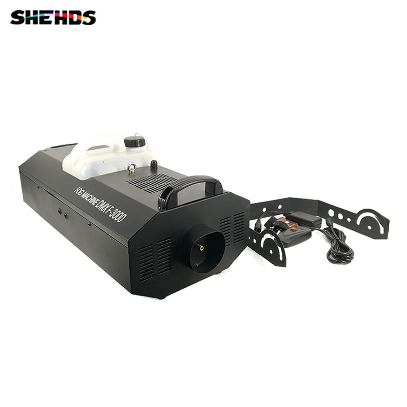 Smoke Machine 3000W DMX512 Wire And Wireless Remote DJ /Bar /Party /Show /Stage Light Professional Stage Dj Equipment 900w 1l fog machine remote wire control fogger smoke machine dj bar party show stage machine