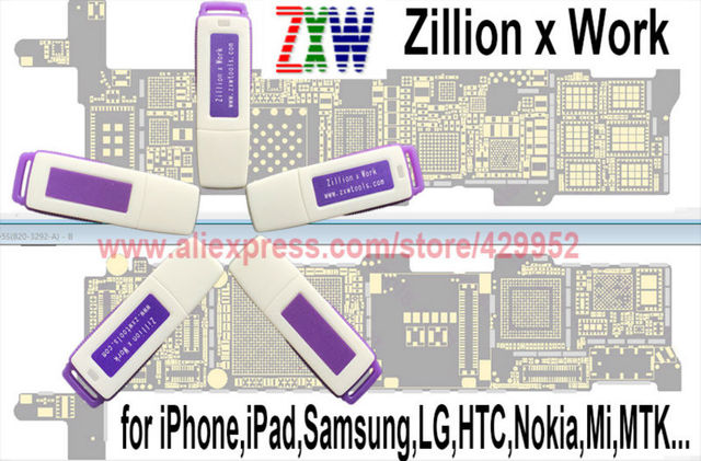 Original Zillion x Work ZXW DONGLE Repair Mobile Smartphone Circuit