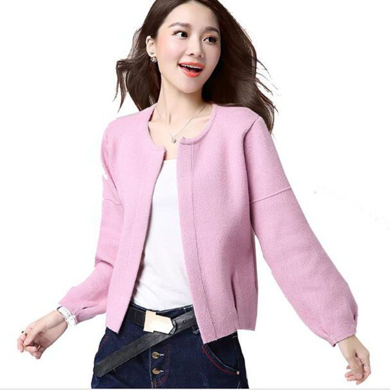 Cashmere Sweater Women 2018 New Autumn Brand Long-sleeved Full Cardigans Coat Female Casual Cardigan Thick Wool Sweaters Jacket