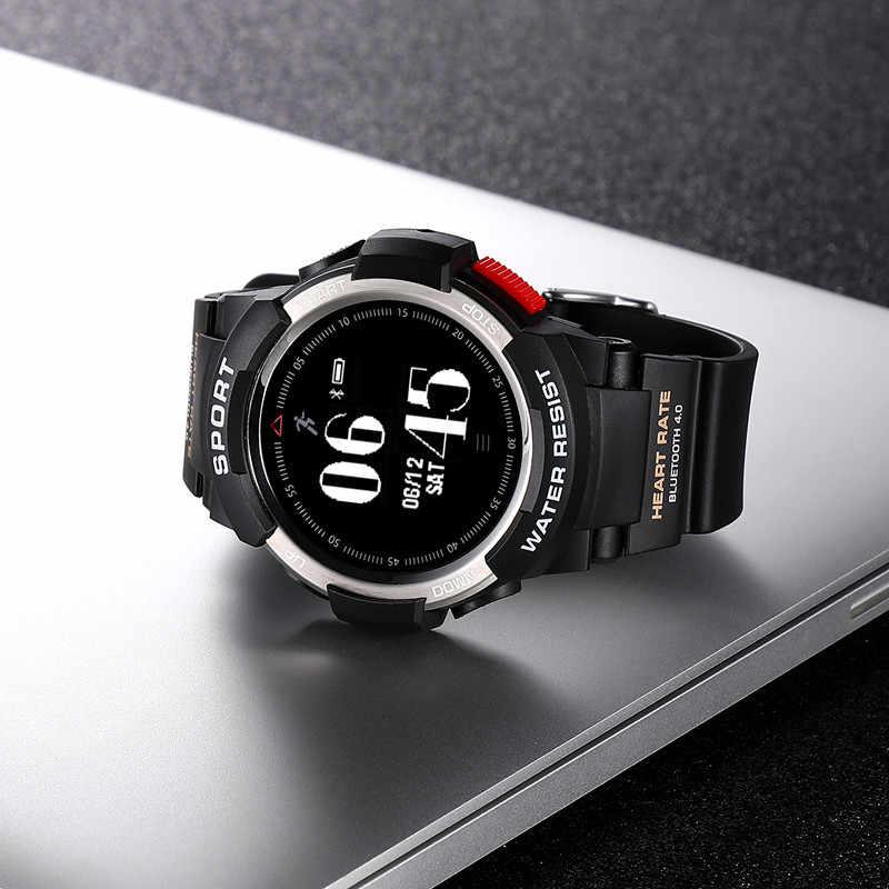 F6 Smartwatch IP68 Водонепроницаемый Bluetooth 4,0 динамический монитор сердечного ритма Смарт часы для Android, Apple смартфон pk Q8 S226