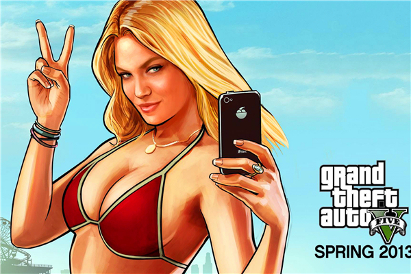 Custom Canvas Art Grand Theft Auto Poster Gta San Andreas Game Wallpaper Y Woman Wall Stickers