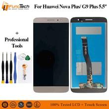 Black/White/Gold For Huawei Nova Plus TD-LTE MLA-L11 MLA-L02 MLA-L12 LCD Display + Touch Screen Digitizer Assembly Replacement цена