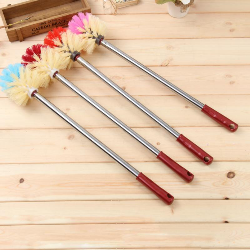Stainless Steel Handle Bathroom Toilet Brush Replacement Cleaning Home Bath Cleaner Tools High Quality In Holders